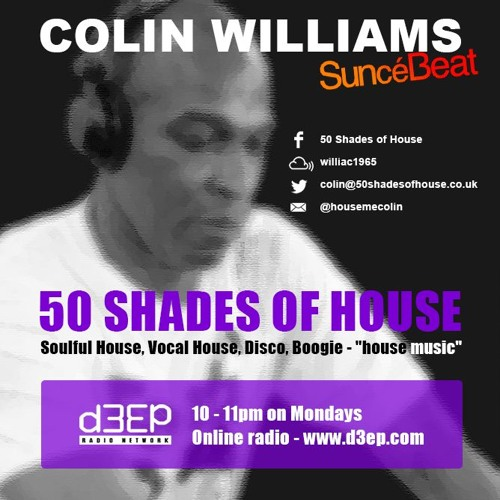 141116 Colin W 50 Shades of Soulful House on ww.d3ep.com
