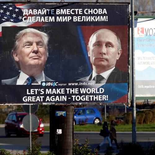 The Kremlin had a plan - Donald Trump winning wasn't part of it