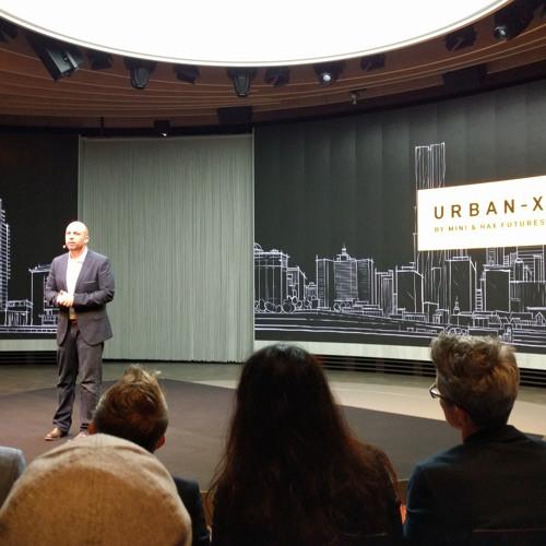Micah Kotch, Managing Director of BMW MINI UrbanX at Next100 Iconic Impulses