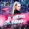 poster of Kim Cameron It Starts Raining song