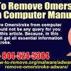How To Remove Omerstroke From Computer Manually?