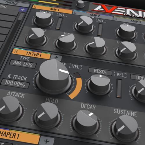 Vengeance Producer Suite - Avenger Factory Demo 1:  EDM, Dubstep, House, Club/Dance styles