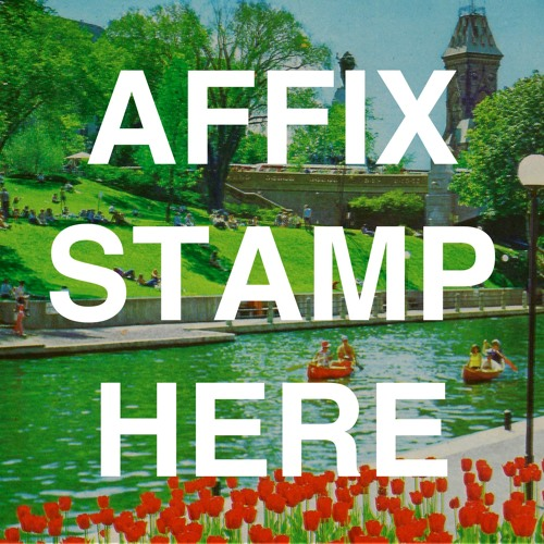 Leo Chadburn - Affix Stamp Here (2016)