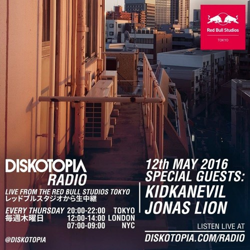 Guest Mix for Diskotopia Radio Tokyo (May 2016)