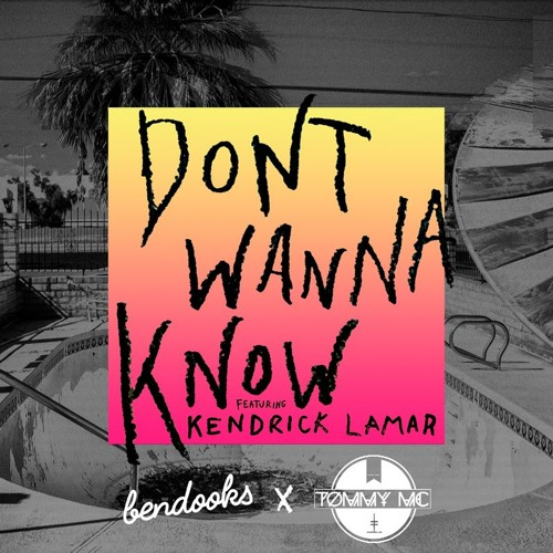 Baixar Maroon 5 Feat Kendrick Lamar - Don't Wanna Know (Tommy Mc x Ben Dooks Bootleg) - HIT BUY 4 FREE DL
