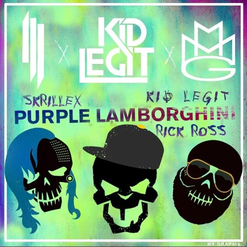 Skrillex Rick Ross Purple Lamborghini Kid Legit Remix Buy