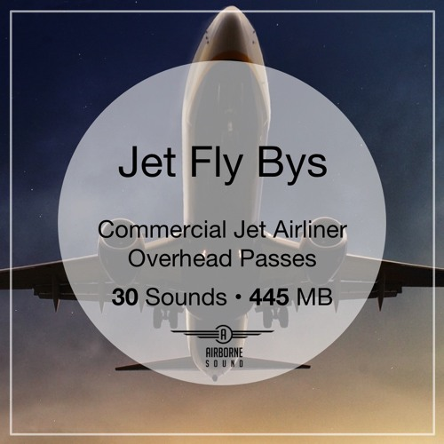 Jet Fly Bys Sound Library Audio Demo Preview Montage