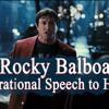 MJS Brett Production - Amazing Speech From Rocky Balboa