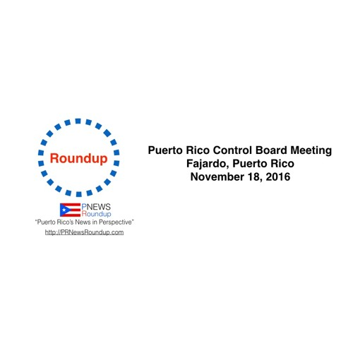 PR Control Board Third Meeting - November 18, 2016