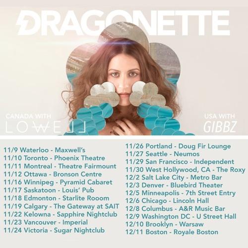 Dragonette + Gibbz + Autumn in June | Nov 30th at The Roxy in L.A.