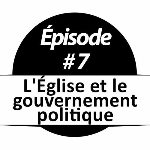 007 - L'Église et le gouvernement politique