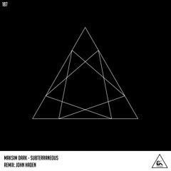 Maksim Dark - Subterraneous (Original Mix)