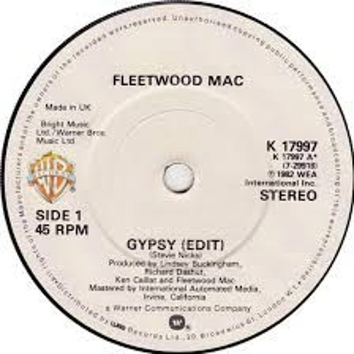 "Fleetwood Mac - Gypsy (Twin Sun ""Lightning Strikes"" Edit)"