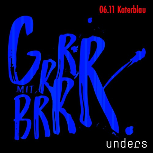 unders @ katerblau | berlin | nov 2016 | 6.5HRS