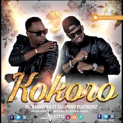 Rich Mavoko Ft Diamond Platnumz - Kokoro || DJMaisha Promoz