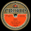 """Baby"" Felix Ferdinando & His Orchestra, Vocal: The Three Clownettes"