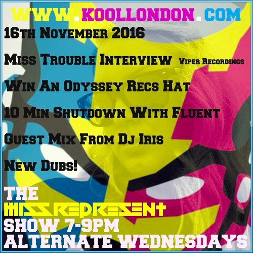 Missrepresent & Miss Trouble Interview - Kool Fm 16.11.16
