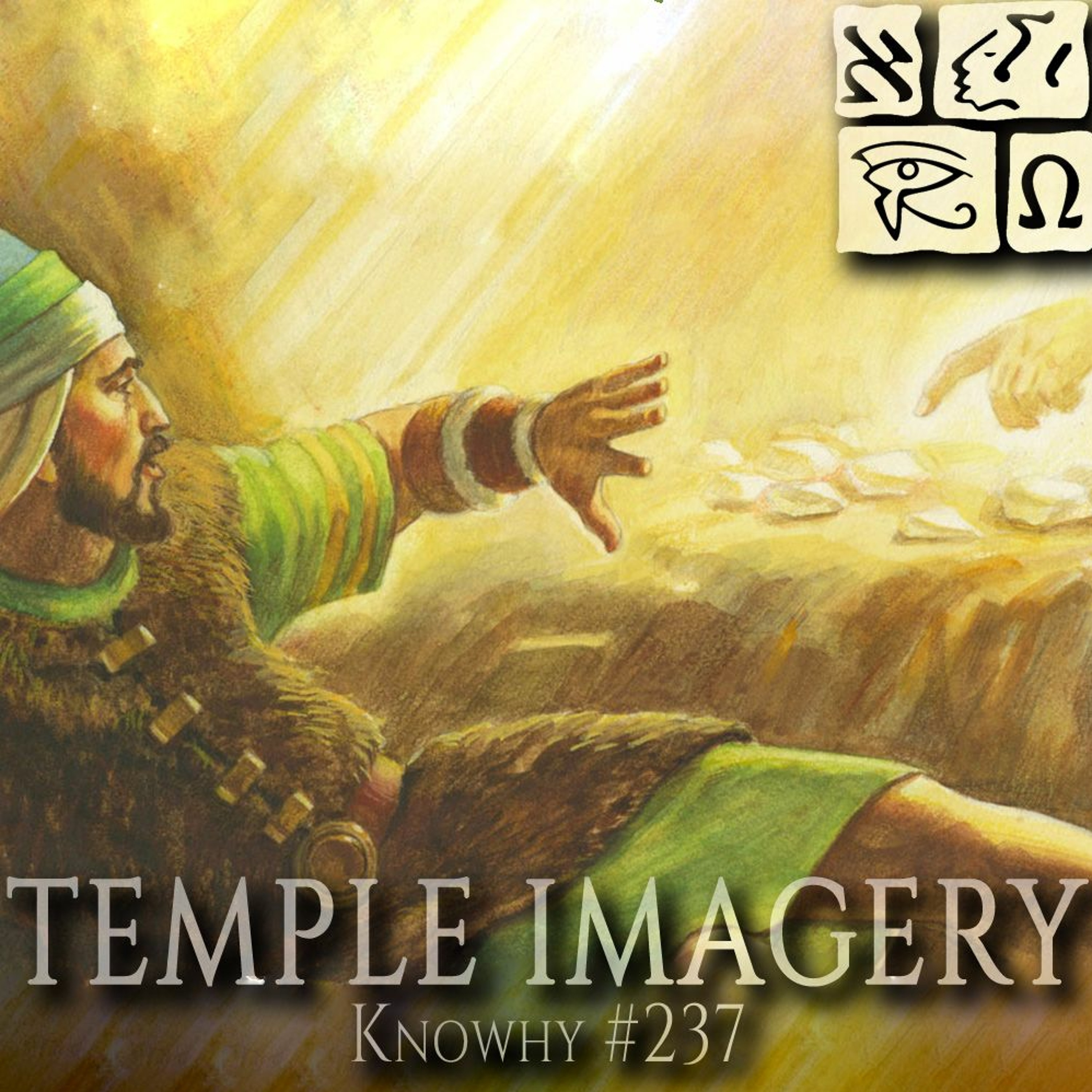 Why Did Moroni Use Temple Imagery...