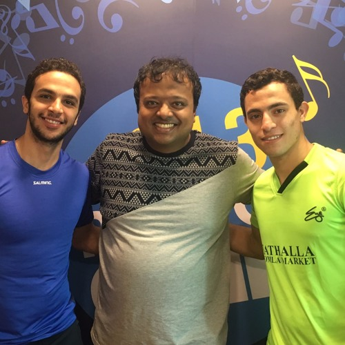 Fares Dessouky & Mohamed Abouelghar on 94.3 Radio One with Radio Host Hrishikesh Kannan (Hrishi. K)