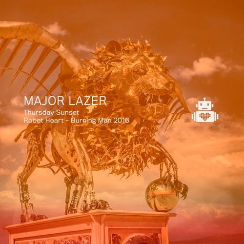 Major Lazer - Sunset - Robot Heart - Burning Man 2016