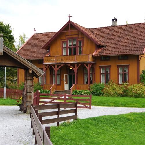 Audioguide (norsk) De Heiberske Samlinger - Sogn Folkemuseum