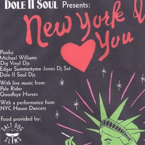 POOKY - NYC MINI MIX (FOR DOLE II SOUL @ CAMP & FURNACE)