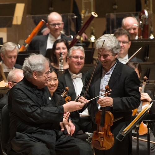 TSO Podcast 79: Itzhak Perlman, Peter Oundjian + Howard Shore