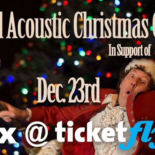 JR Digs Announces This Year's Acoutic XMas Concert