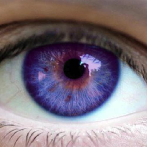 Change Your Eye Color to Dark Blue Purple Fast! Biokinesis
