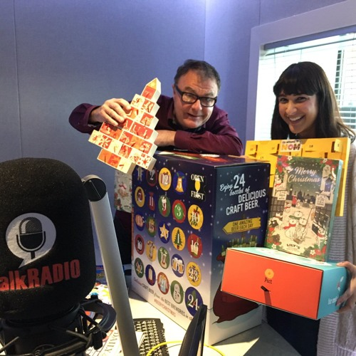 Advent Calendars: Annem Hobson So Wrong It's Nom on TalkRADIO with Paul Ross
