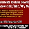 Download TubeMate YouTube Downloader for PC Windows 10
