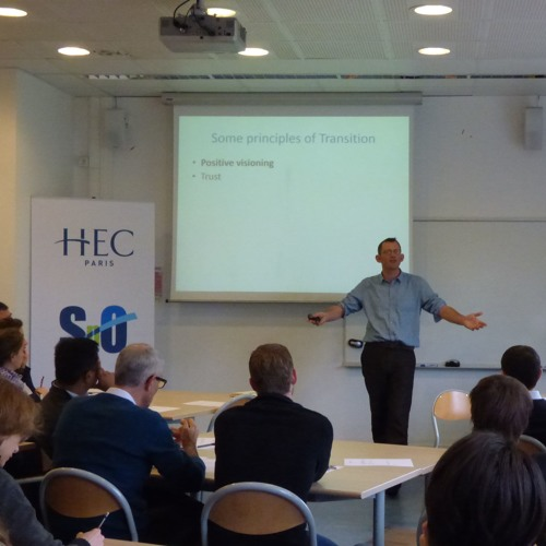 """""""Can do"""" Social Entrepreneur Rob Hopkins Sees HEC Paris as Possible Hub for Transition Network"""