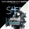 Robin Schulz & David Guetta vs Hardwell & KAAZE - Shed A Light vs Thinking About You (CHAXX Edit)