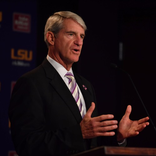 AD Joe Alleva Speaks to Media Following Ed Orgeron Press Conference