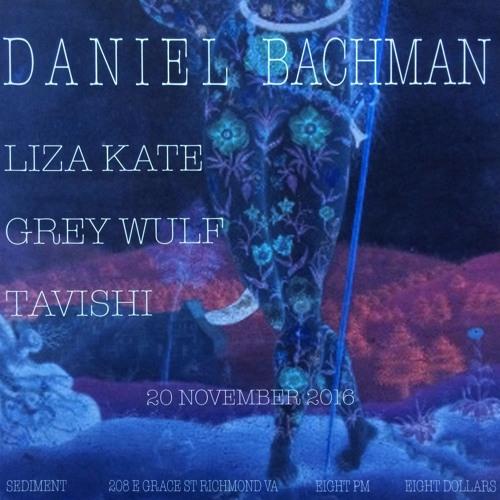 Daniel Bachman - Live at Sediment Arts Nov 20, 2016