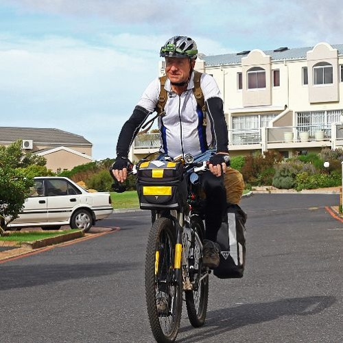 Eelco Meyjes will attempt to do an unsupported 3600 km solo cycle ride from Cape Town to Namibia