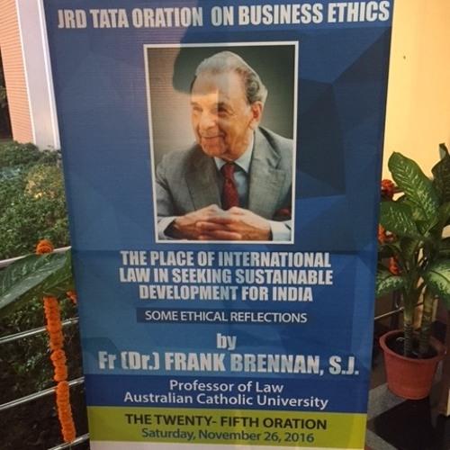 Tata Oration