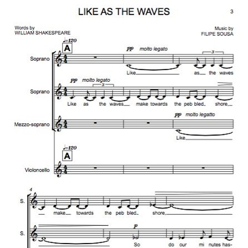 Like as the waves