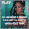 This Is What You Came For (Won - Held RMX)- Calvin Harris ft. Rihanna(video in description)