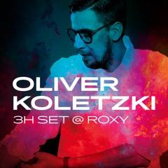 Oliver Koletzki 3H set @ ROXY Prague - Nov 2016