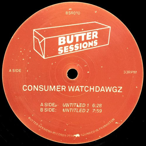 "Consumer Watchdawgz - Untitled 12"" (BSR010)"