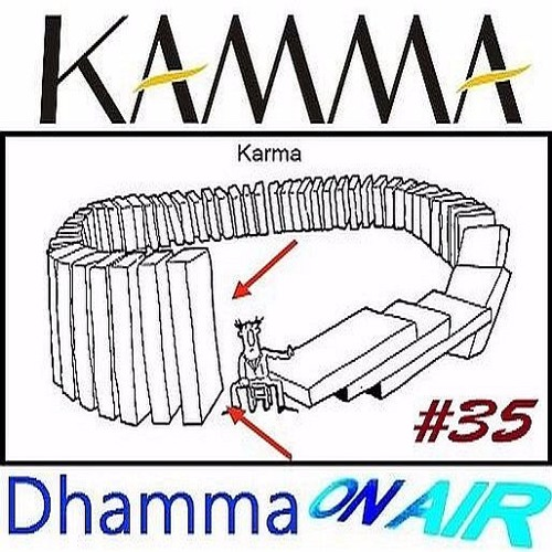 Dhamma On Air #35 Audio: The Way beyond Kamma