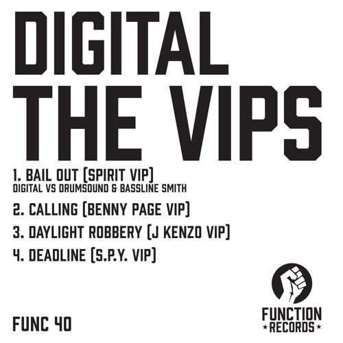 DIGITAL - THE VIP'S - Spirit, Benny Page, J Kenzo, S.P.Y, Drumsound & Bassline Smith.