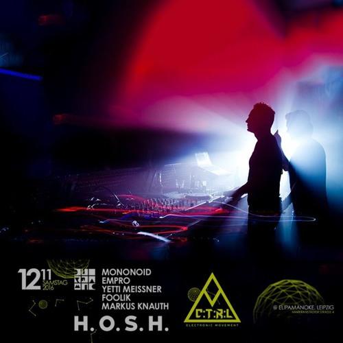MONONOID @ Elipamanoke - Leipzig, DE // Opening set // 12-11-16
