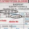 Elektrik Faturasi