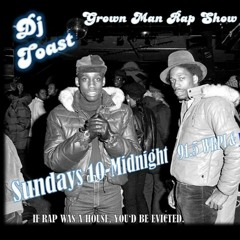Grown Man Rap Show - Domingo Career Tribute Episode - Dj Toast & Paul Nice
