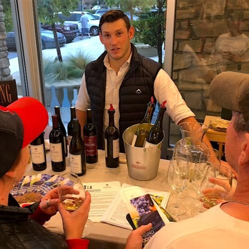 Greg Stobbe talks with Tim Ferris of Old Fig Wine Cellars