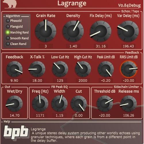 Lagrange VST Demo Tracks