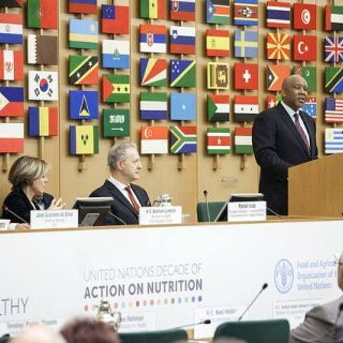 Opening ceremony of the FAO/WHO International Symposium on Sustainable Food Systems-King Letsie III