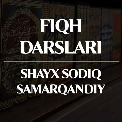 """12. Fiqh darslari: """"Paypoqqa mash tortish haqida"""" (Shayx Sodiq Samarqandiy)"""